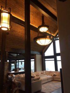 Living Room Lighting Installation